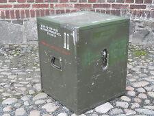 Bundeswehr Kiste Holzkiste BW Kiste Holzbox  Bundeswehr Kiste 55x55x69 cm