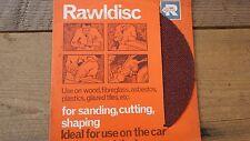 "Enmiendas 7"" 180mm de diámetro rawldisc RAWLPLUG Disco abrasivo de corte de arena forma"