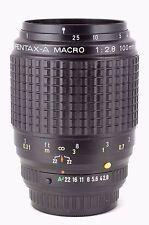 *Rare* SMC Pentax-A 100mm f/2.8 Macro Lens, Full Frame K-1, K-70, K-3, EXC!