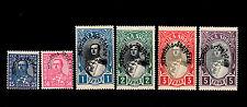 Albania - 1928 - SC 232-237 - H - President Ahmed Zogu