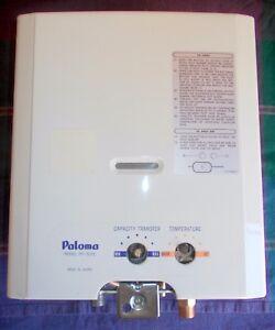 PALOMA PH5-LFE WATER HEATER BOILER PART EXCHANGE CARAVAN CAMPER BOAT LPG
