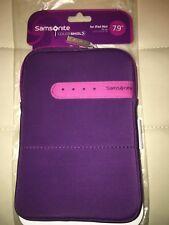 Genuine Samsonite Colorshield Purple Pink 7.9'' Ipad Mini 1 2 3 4 Case Sleeve