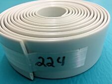 """1.5"""" Vinyl Chair  Strapping Patio Furniture Repair 20' Off White # 224 2/10"""