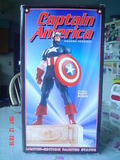 BOWEN DESIGNS CAPTAIN AMERICA MODERN VERSION FULL SIZE STATUE - 1999 - EXC COND
