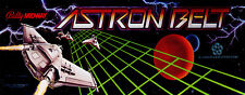 Astron Belt Arcade Marquee For Reproduction Midway/Bally Header/Backlit Sign