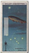 Cassiopea And Pole Star Solar System Astronomy  c90 Y/O Trade Ad Card