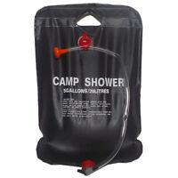Solar Shower Camp Shower Bag 20 liters black S4G3