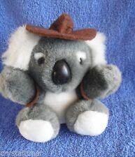 *1716a*  Aussie Koala with brown hat & vest - CA Australia - plush - 14cm