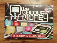 THE COLOUR OF MONEY ELECTRONIC BOARD GAME COMPLETE LOVELY CONDITION DRUMOND PARK