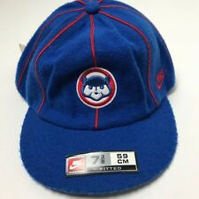 Vintage Nike Chicago Cubs Classic Style Hat Short Brim MLB NEW WITH TAGS
