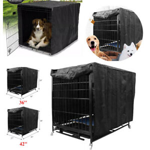 Dog Pet Cage Crate Cover 6 sizes Waterproof Dust-proof Outdoor Kennel House Tent