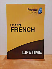 Rosetta Stone Learn FRENCH Lifetime