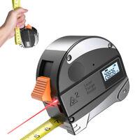 30m Absturz Schutz Stahl Maßband Infrarot Digital Laser Entfernungsmesser