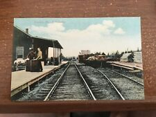 PC  Railroad Station, Franklin  ME  PC