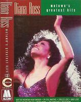 Diana Ross Motown's Greatest Hits CASSETTE ALBUM Rhythm & Blues, Soul, Disco