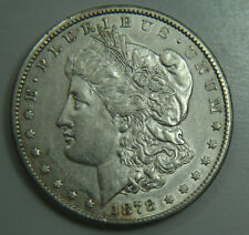 1878-CC Morgan Silver Dollar - Carson City - $1 - Nicer Date - No Reserve!