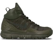Nike Lupinek Flyknit Cargo Khaki Men's Size 9.5 Sneaker Boot 862505-300 NEW $250
