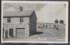 Postcard WASHINGTON Pennsylvania/PA  Dreamland Tourist Motel Motor Court 1930's