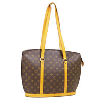 LOUIS VUITTON BABYLONE HAND TOTE BAG VI1906 PURSE MONOGRAM CANVAS M51102 40314