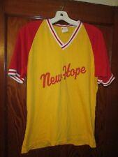 Vintage 50s Southland New Hope Trojan High School State Baseball Jersey