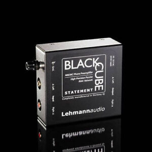 LEHMANN AUDIO BLACK CUBE STATEMENT PRE PHONO MM/MC SIGILLATO GARANZIA UFFICIALE