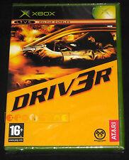 DRIV3R Xbox Driver 3 Versione Italiana 1ª Edizione  ○○○○○ NUOVO SIGILLATO