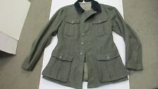 WW2 German Reproduction M36 Field Grey Wool Tunic Made in Germany Sturm Large