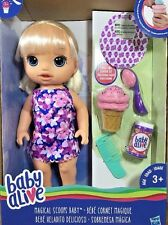 Baby Alive Magical Scoops Doll Interactive Accessories Dress Ice Cream Sprinkles