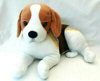 Beagle Hush Puppies Dog Plush Stuffed Animal Toy Multicoloured Sitting Large