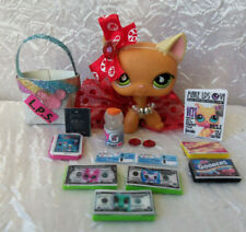Littlest Pet Shop Lps Accessories Lot of 16 Custom Vacation Clothes Necklace Bow