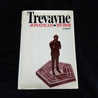 1st Printing 1973 Trevayne : A Novel by Jonathan Ryder HC Book w/ Dust Jacket
