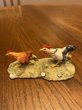signed Lowell Davis Exclusive Figurine Chickens Farm Animals