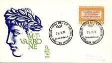 Repubblica Italiana 1974 FDC Venetia Club Marco Terenzio Varrone