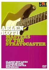 ARLEN ROTH MASTERS OF THE STRATOCASTER GUITAR HOT LICKS DVD HOT218 LEARN STRAT