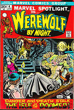 MARVEL SPOTLIGHT #4 VF-  WEREWOLF BY NIGHT ART MIKE PLOOG