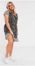 BNWTS Oasis Curve Lovely Sun Patchwork Animal V Neck Dress Sz XXXL Sz 22 £45.00