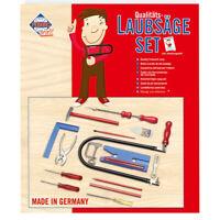 PEBARO 925P Laubsägeset: Kunststoffbrettchen + Drillbohrer + Werkzeug