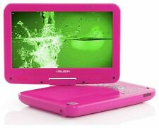 Bush 10 Inch Swivel LCD Shock Resistant Portable DVD Player - Pink - EE213
