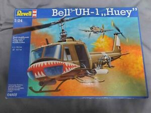 """Revell of Germany #04905 Bell UH-1 """"Huey"""", 1/24th scale, Complete kit!"""