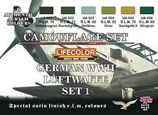LIFECOLOR LFCS06 LUFTWAFFE WWII - SET 1