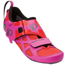 Pearl Izumi Women's Tri Fly V Carbon Triathlon Shoes Hot Pink/Black - 37