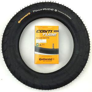 Kinderrad Bereifungs-Set Continental 12 1/2 x 2 1/4 (62-203) Reifen und Schlauch