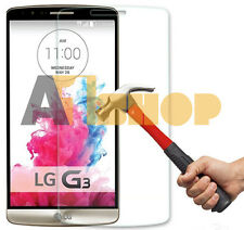 100% TEMPERED GLASS FILM SCREEN PROTECTOR FOR LG G3