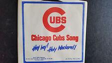 Cubs Hey Hey, Holy Mackerel 45rpm record