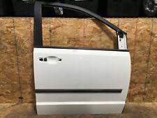 2011 DODGE GRAND CARAVAN FRONT RIGHT PASSENGER SIDE DOOR SHELL COVER WHITE OEM+