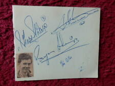 SIMON SCHRAM - TOM WILLIS - + 5 OTHERS - MOTOCROSS RIDERS    -  AUTOGRAPHS