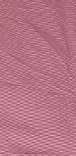 Ralph Lauren Pink White Thin Striped Full FLAT Sheet