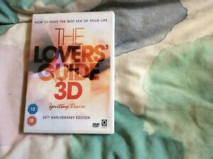 The Lovers Guide 3D Igniting Desire 20th Anniversary Issue Rated R 18+ Region 2