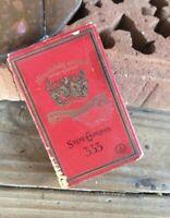 Vintage State Express Cigarettes Cardboard Packet