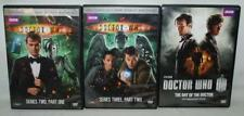 MIXED LOT OF 3 DOCTOR WHO DVDS, THE DAY OF THE DOCTOR 50TH ANNIVERSARY ~113~